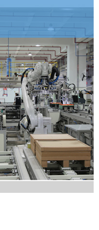 The power battery production line of New energy vehicle