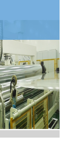Automated production line of stretched film